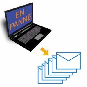 Perturbations pour joindre NPPM par email